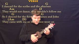 Lord of the Dance - Ukulele Cover Lesson in G with Chords/Lyrics