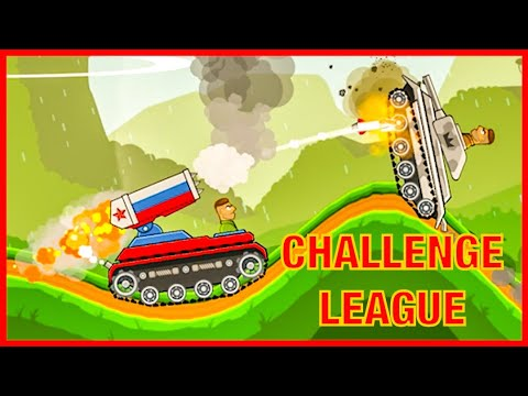 Hills Of Steel| Challenge League Gem Mania With Barracuda And Cobra Tank| Tank| Giải Đấu Xe Tăng