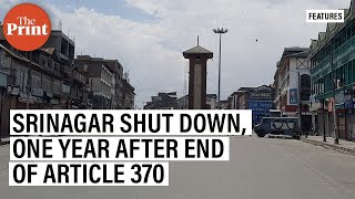 Curfew in Kashmir ahead of first anniversary of revocation of Article 370 - Download this Video in MP3, M4A, WEBM, MP4, 3GP