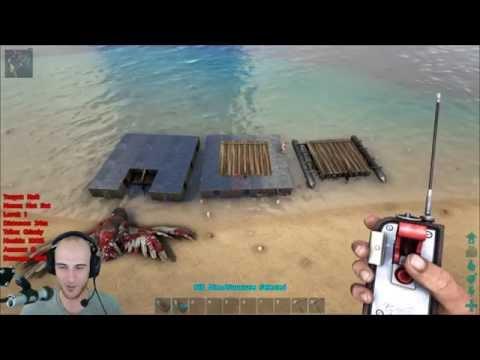 Ark: Survival Evolved - Best Raft Build (Indestructible