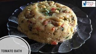 Tomato Bath Upma Recipe In Telugu