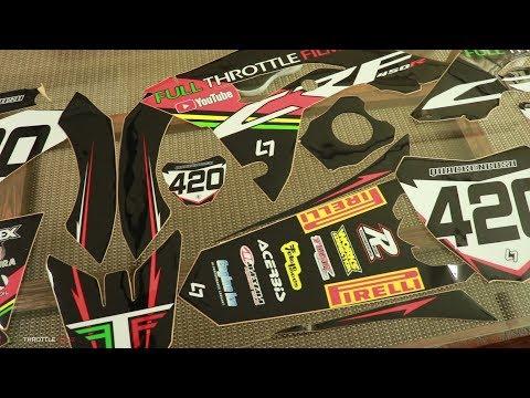How I Race Prep My Dirtbike!!! 2018 CRF450R - смотреть