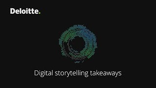 Digital Storytelling Takeaways