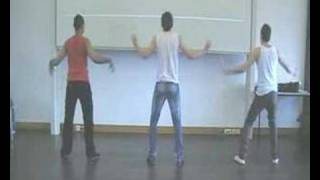 Filip, Adèl, Frank dans: Les 2 be 3