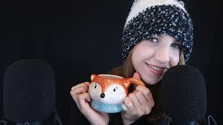 ASMR Cozy Winter Whisper Rambles ~ (I actually think this is tingly)