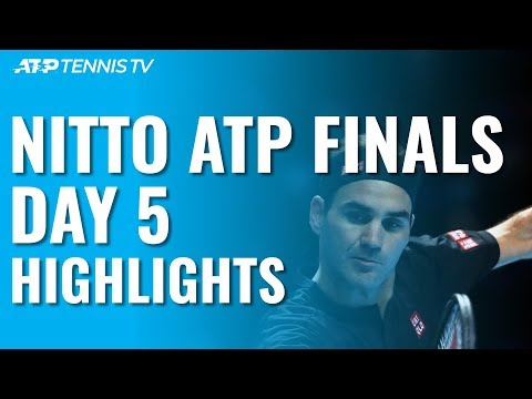Federer Defeats Djokovic; Berrettini Hands Thiem First Loss | Nitto ATP Finals 2019 Day 5 Highlights