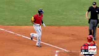 Candelario hits first homer with Mud Hens