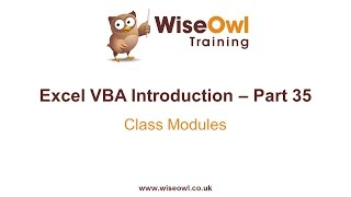 Download Youtube: Excel VBA Introduction Part 35 - Class Modules