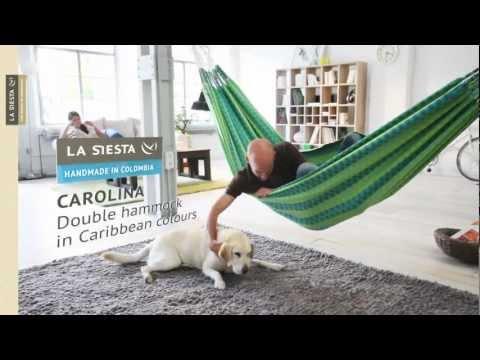La Siesta Carolina 2-persoons hangmat