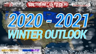 2020-2021 Winter Forecast (Preliminary); Temperature, Precipitation & Snowfall Forecast