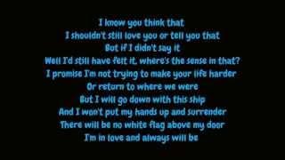 Dido   White Flag (Lyrics HD)