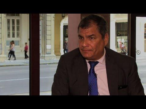 """Video: Correa llama traidor a Moreno, lo acusa de dar """"puñalada"""" a paz"""