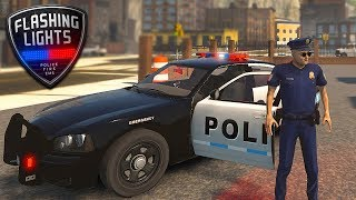 BEST POLICE SIMULATOR - Flashing Lights - Video Youtube