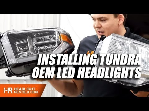 Installing Toyota Tundra OEM LED Headlight Housings 2014-2018 Mp3