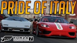 Forza 7 Lamborghini V Ferrari w/ Johnson