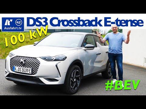 2020 DS 3 Crossback E-Tense So Chic - Kaufberatung, Test deutsch, Review, Fahrbericht Ausfahrt.tv