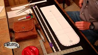 Making A Leather Purse Chapter 1: Creating A Pattern For A Leather Purse