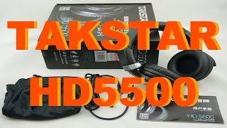 Распаковка TAKSTAR HD5500, чудо-наушники за 40$ из Китая