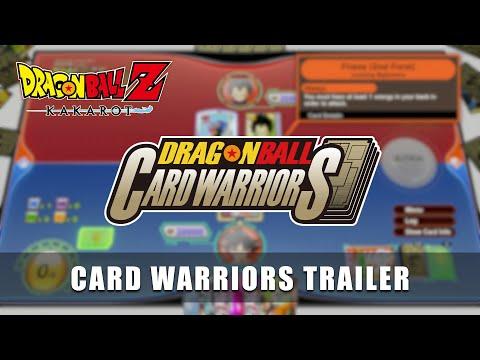 Le mode Dragon Ball Card Warriors de Dragon Ball Z: Kakarot