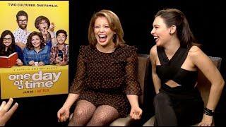 ONE DAY AT A TIME interviews - Isabella Gomez and Justina Machado