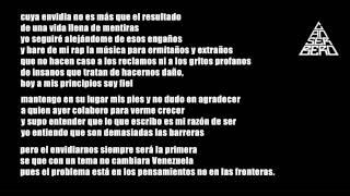 A Donde Se Fue La Conciencia- Canserbero (Letra)