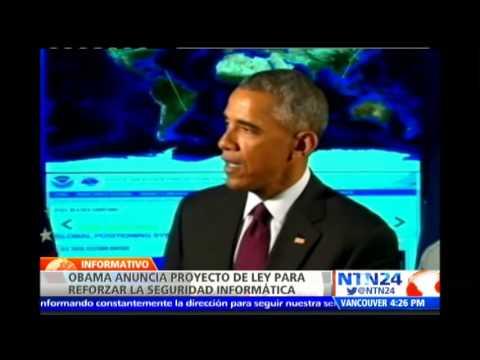 Obama presenta proyecto de ley para reforzar seguridad informática en Estados Unidos