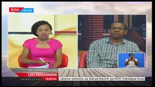 Leo Mashinani: Dkt. John Mugo-Shirika la Uwezo; siasa kuingilia elimu, 13/ 10/2016