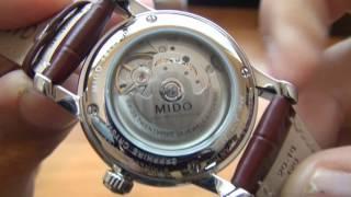 Unboxing: Relógio Mido Baroncelli M86004188 Mecânico Automático (Original)