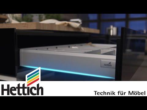 Découvrez les produits Hettich : le système de tiroirs ArciTech