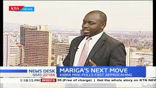 Mariga's next move after being blocked from the Kibra by election