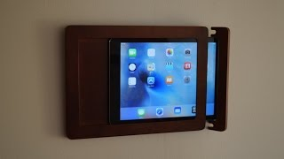 Wall Mounted Tablet SmartThings ActionTiles Fully Kiosk Hardware