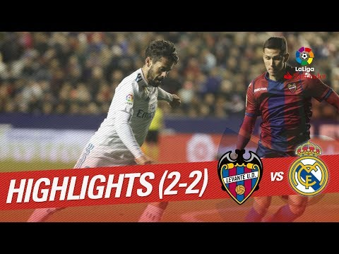 Resumen de Levante UD vs Real Madrid (2-2)