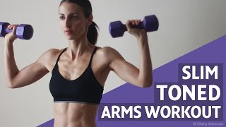 Sexy Toned Arm Workout For Women - Shoulders, Triceps & Biceps by Vitality Advocate