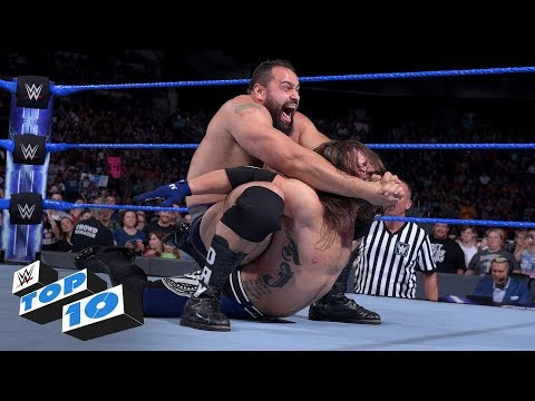 Download Top 10 SmackDown LIVE moments: WWE Top 10, July 4, 2018 Mp4 HD Video and MP3