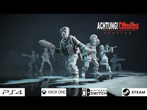 Achtung! Cthulhu Tactics - Announcement Trailer thumbnail