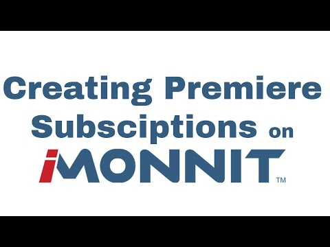 how to add a new Premiere subscription