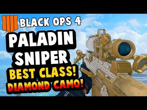 BLACK OPS 4 PALADIN SNIPER BEST CLASS SETUP (BO4) ICEBREAKER MAP