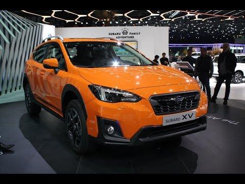 2018 Subaru Crosstrek First Look - 2017 Geneva Motor Show