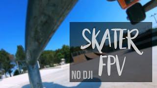 Skateboard x FPV . Your DJI Mavic can't do this!