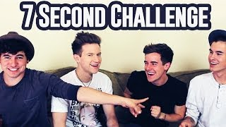 7 Second Challenge w/ My Roommates