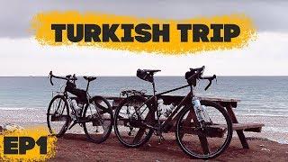 На велосипедах по Турции! Прилетели и решаем квесты.Turkish Trip - ep1