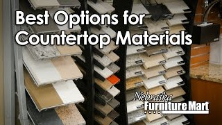 Learn More About the Best Countertop Materials at NFM
