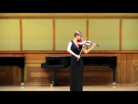 Bach, Sonata No. 2, Andante