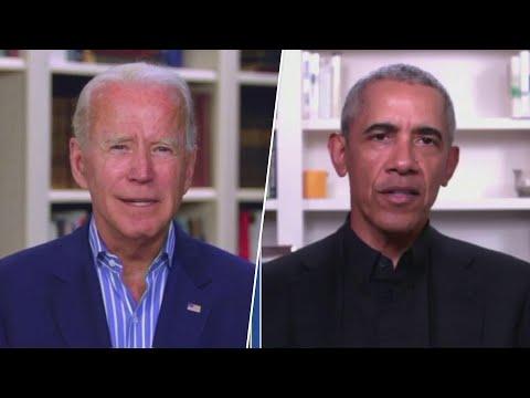 Obama Lies Campaigning For Biden