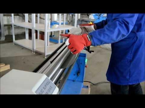 Электромеханические трехвалковые вальцы Metal Master ESR 1315 E