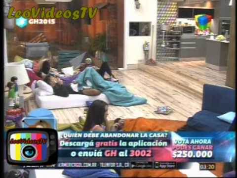 Descontrol y pijama party mientras cuidan al bebe GH 2015 #GH2015 #GranHermano