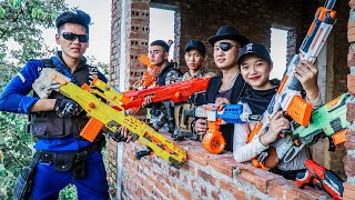 Video LTT Nerf War : Captain SEAL X Warriors Nerf Guns Fight Criminal Group Dr Lee Guns Bandits Greedy MP3, 3GP, MP4, WEBM, AVI, FLV September 2019