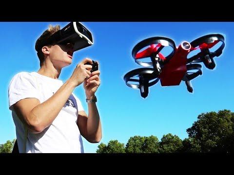 Diese Drohne steuert man mit VR-Brille 😱
