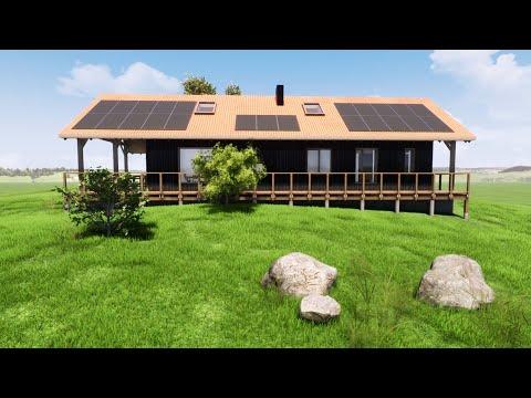 Recepta na dom - Część 1. Ekologiczny dom ze słomy i gliny