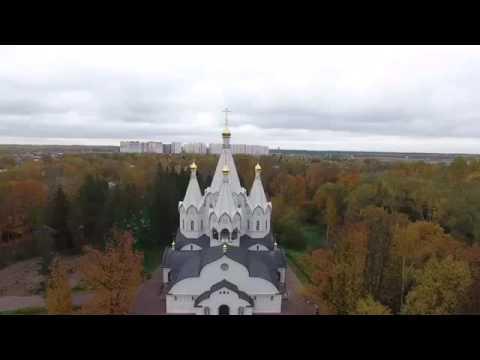 Казанский храм в вырице на карте